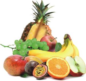 Sortiert nach Frucht/Gemüse