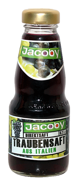 Jacoby 100 % Traubensaft rot