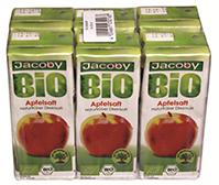 Jacoby Bio Apfelsaft  6 x 0.2 L Tetra
