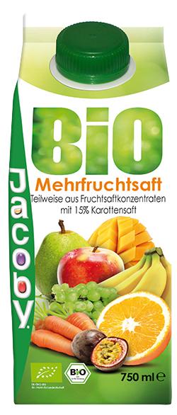 Jacoby Bio Mehrfruchtsaft