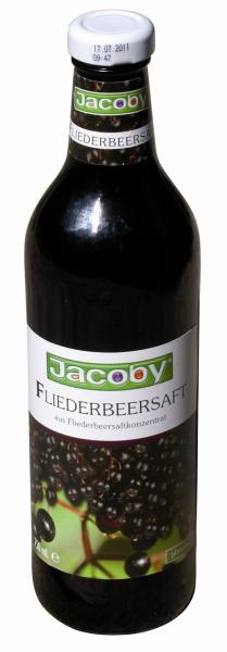 Jacoby Fliederbeersaft