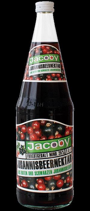 Jacoby Johannisbeer-Nektar aus roten und schwarzen Johannisbeere