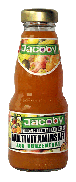 Jacoby Multivitamin Mehrfruchtsaft