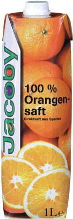 Jacoby Spanischer Orangensaft Direktsaft