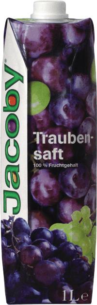 Jacoby Traubensaft rot