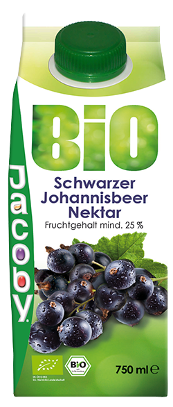 Jacoby Bio schwarzer Johanisbeernektar