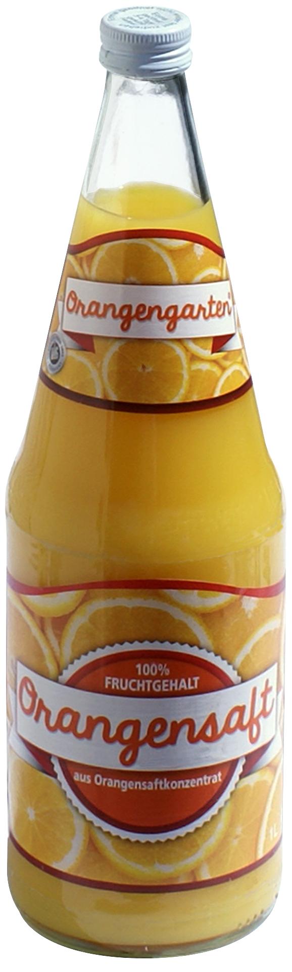 Orangensaft Orangengarten