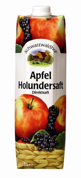 Schwarzwaldhof Apfel Holundersaft