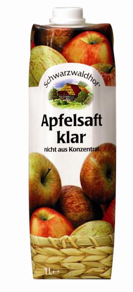 Schwarzwaldhof Apfelsaft klar
