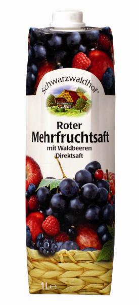 Schwarzwaldhof Roter Mehrfruchtsaft